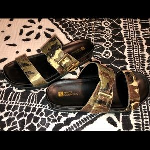 Camouflage White Mountain Sandals